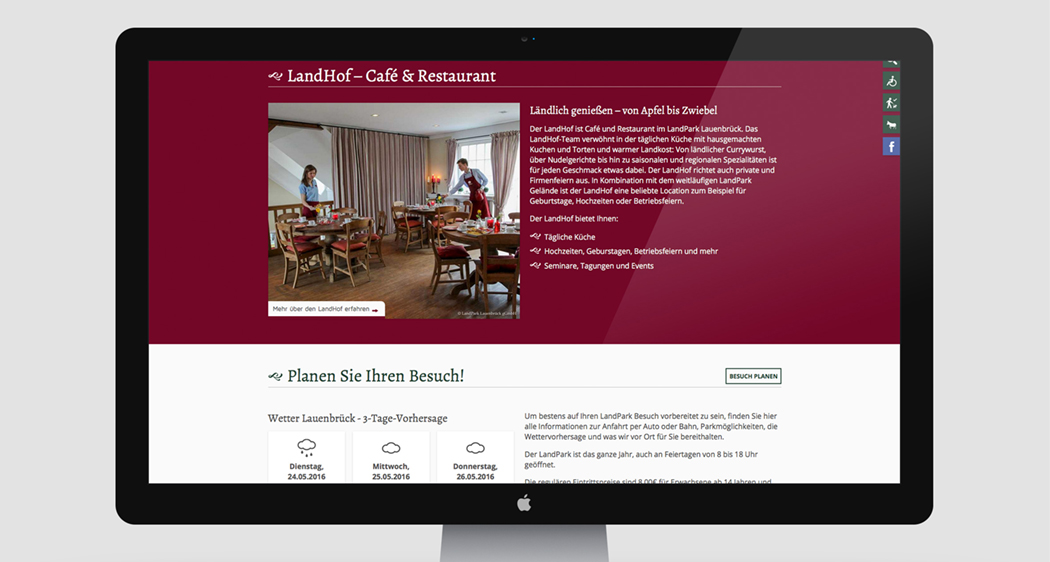 Landpark Website-Refresh
