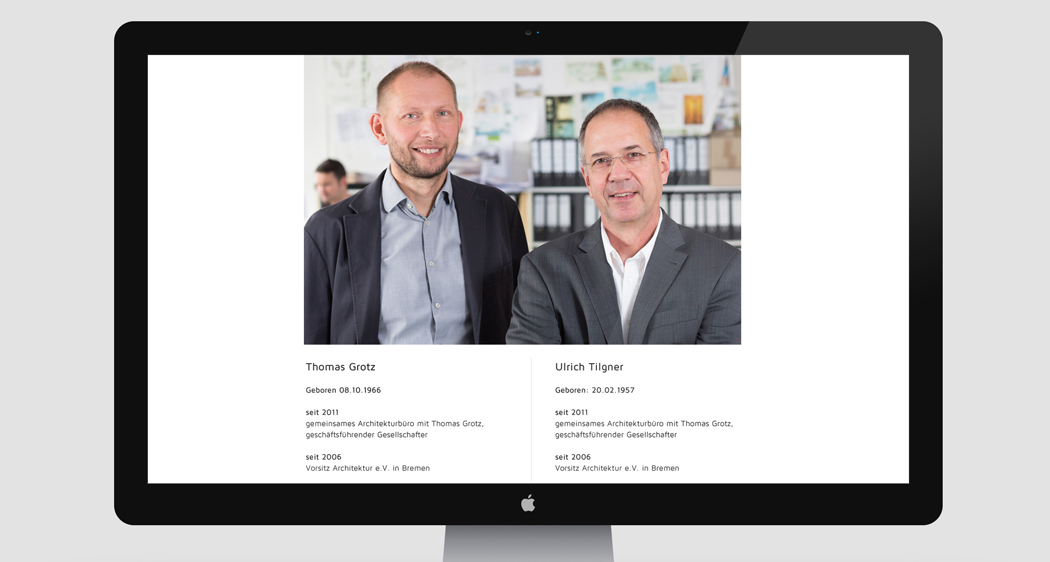 Tilgner & Grotz Website